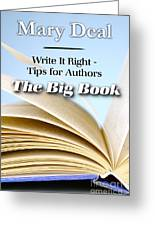 Write It Right - Tips For Authors - The Big Book Greeting Card