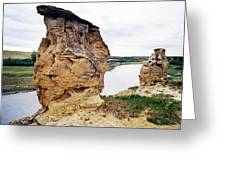 Writing-on-stone Provincial Parks Greeting Card