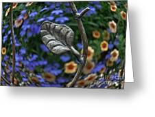Wrought Iron Garden Greeting Card
