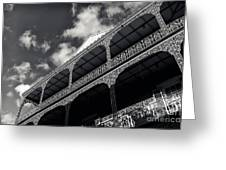 Wrought Iron Orleans Mono Greeting Card