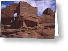 Wukoki Ruin 1 Greeting Card