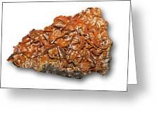 Wulfenite Mineral Greeting Card