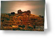 Wupatki National Monument-ruins V13 Greeting Card