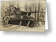 Ww II Battle Of The Bulge 02 Greeting Card