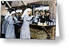 Ww1: Red Cross, 1918 Greeting Card