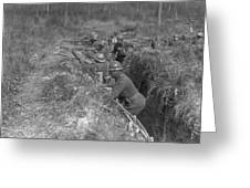 Wwi Black Troops, 1918 Greeting Card