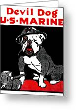 20x30 Devil Dogs! Teufel Hunden WWI Marine Recruting Poster US Marines