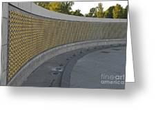 Wwii Memorial Stars Greeting Card