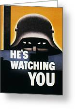Wwii: Propaganda Poster Greeting Card by Granger