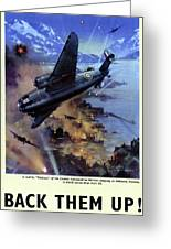 Wwii Royal Air Force, C1942 Greeting Card