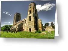Wymondham Abbey  Greeting Card