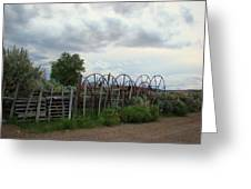 Wyoming Backroads 2 Greeting Card