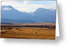 Wyoming Beauty Two Greeting Card