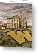 Wyoming Capitol Building Greeting Card