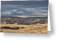 Wyoming Hills Greeting Card