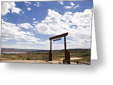 Wyoming Ranch Greeting Card