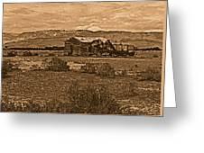 Wyoming West Greeting Card