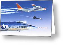 X-15 Launch Greeting Card