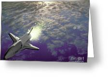 X34 Aircraft Greeting Card by Nasa