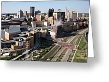 Xcel Energy Center St. Paul Minnesota Greeting Card