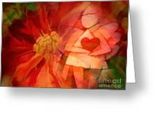 Xmas Angel Greeting Card