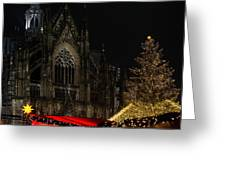 Xmas In Cologne Greeting Card