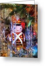 Xmas Soldier Ornament Photo Art 02 Greeting Card