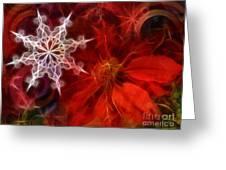 Xmas Stars Greeting Card by Lutz Baar