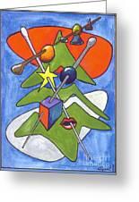 Xmas Tree I Greeting Card