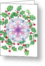 X'mas Wreath Greeting Card