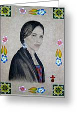 Xochitl Greeting Card