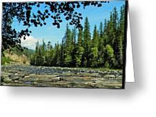 Yaak River Greeting Card