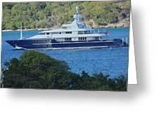 Yacht Greeting Card