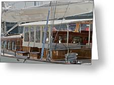 Yachting Greeting Card