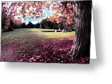 Yaddo Tree Greeting Card