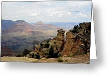Yaki Point Greeting Card by Carrie Putz