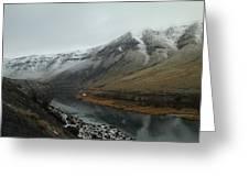 Yakima River  Greeting Card