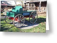 Yankee Candle Cart Greeting Card
