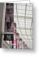 Yankee Old Timers Flags Greeting Card