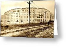 Yankee Stadium 1923 Greeting Card
