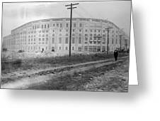 Yankee Stadium, 1923 Greeting Card