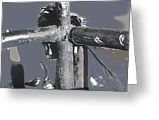 Yaqui Child Snow Cone New Pascua Arizona 1969 Greeting Card
