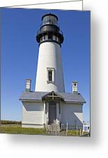 Yaquina Head Lighthouse 2 Greeting Card