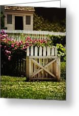 Yard Greeting Card
