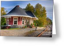 Yarmouth Grand Trunk Railroad Station I Greeting Card