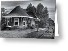 Yarmouth Grand Trunk Railroad Station II Greeting Card