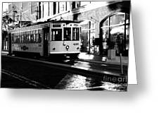 Ybor Street Car Greeting Card