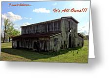 Ye Old Homestead Greeting Card