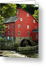 Ye Old Red Mill Greeting Card by Wayne Gill