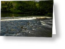 Ye Olde River Wye Greeting Card